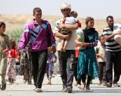 اللاجئون اليزيدية (غيتي)