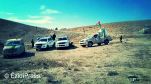 PKK and YBS units in Shingal