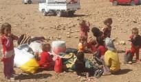 Ezidi refugees from Sinjar