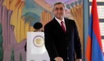 Armenian President Serzh Sargsyan