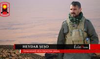 HPS Supreme Commander Haydar Shesho