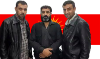 From left to right: Haji Keyrani, Dakhil Osman, Isa Berekat
