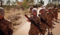 ISIS child soldiers shown in a propaganda video