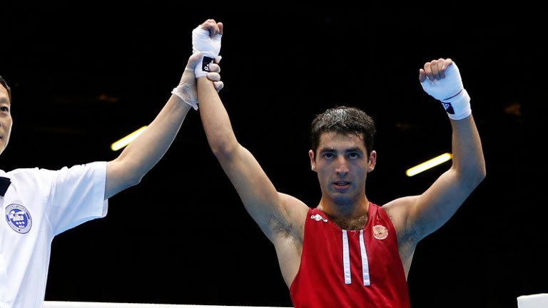 Misha Aloyan at the Olypic Games 2012 (Reuters)