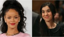 Together against the terror: Rihanna will support the Ezidi activist Nadia Murad