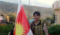 HPE fighter Sabah Ibrahim in Shingal