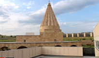 Yezidi temple in Tblisi, Georgia