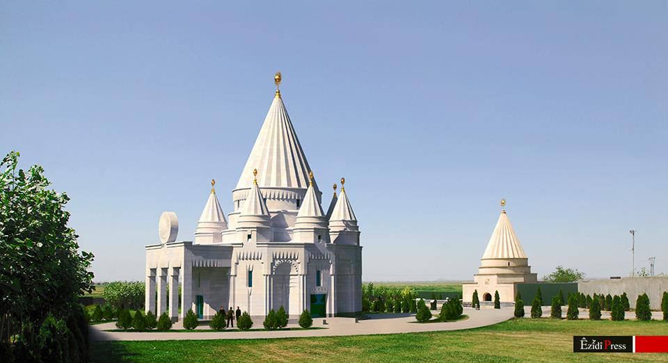 The new temple will be connected to the pilgrimage
