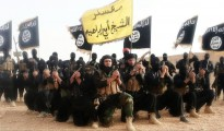 Terrorists of ISIS (Islamic State in Iraq and the Levant)