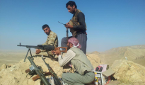 HPS fighters on Mount Shingal