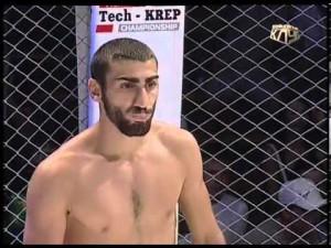 Roman Avdalyan, peu avant son combat éclaire.