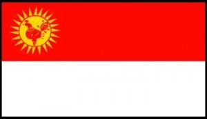 Drapeau des Yezidis d'Arménie