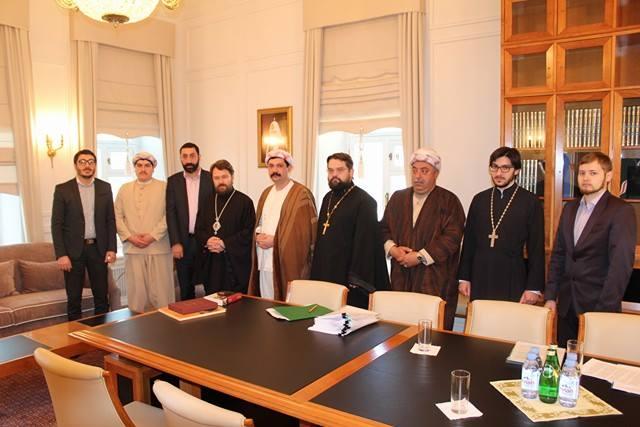 Une photo commune des deux délégations