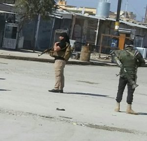 Peshmergas sunnites à Sinouné