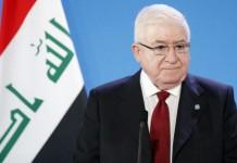 le président irakien Fouad Massoum,