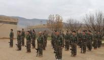 Nouveaux combattants de l'Unité de Résistance de Shengal (YBS) dans Shengal (14 Janvier, 2016)