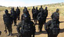 Les forces spéciales yézidies