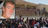 Dernier hommage des combattants yézidis à l'activiste américain M. Lee