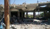 Bâtiment détruit dans Shengal, Ezidipress