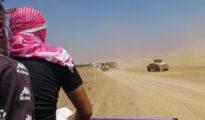 La fuite des Peshmergas