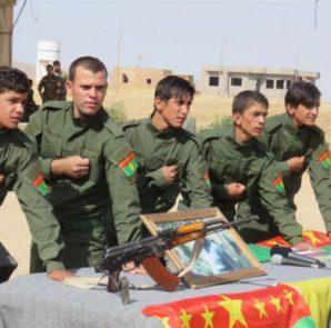 Les Unités de Résistance de Shengal - (Yekîneyên Berxwedana Şengalê, abrégé YBŞ)