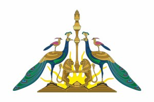 Логотип ДСЕГ и Дома езидов Грузии