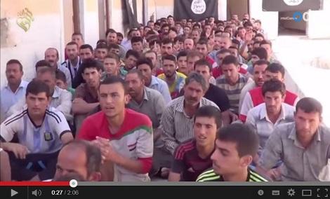 В пропагандистском видео ИГ Адиб узнал 4 своих родственников
