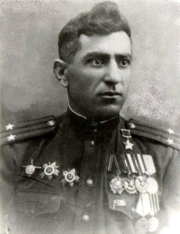 Semend Eli Siyabendov, êzîdîscher Oberstleutnant der Roten Armee