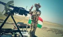 Peshmerga-Soldat an der Front gegen den IS