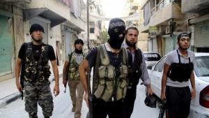Islamisten der ISIS (by REUTERS/Malek Alshemali)