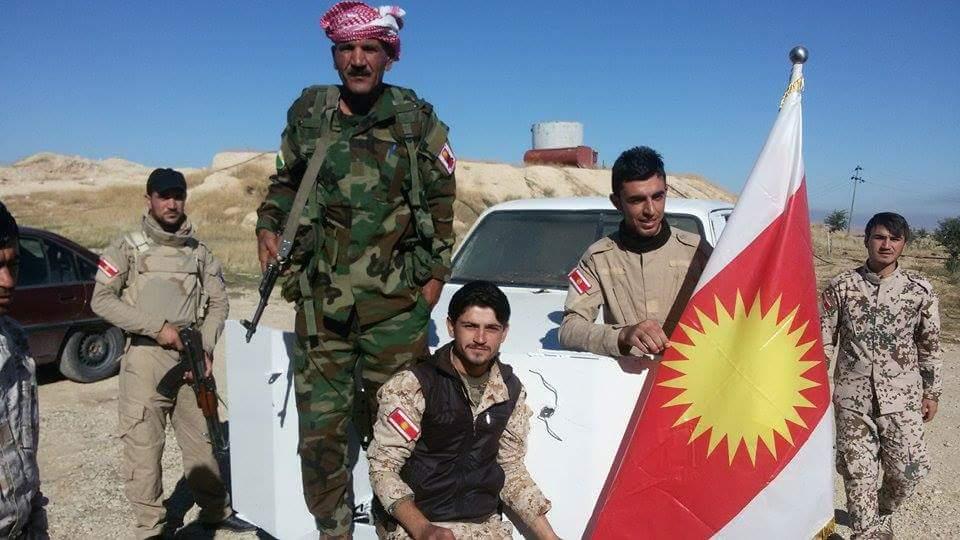 Kämpfer der êzîdîschen Verteidigungskraft Êzîdxans (HPÊ)