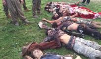 Getötete IS-Terroristen nach Kämpfen am 5. März 2016 in Shingal (rn)
