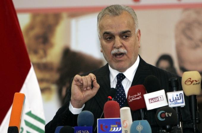 Tariq al-Hashimi, ehemaliger irakischer Vizepräsident (Reuters)