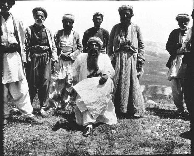 Ali Beg, Nachfahre des Hussein Dasini Beg, im Jahre 1909 (Gertrude Bell)