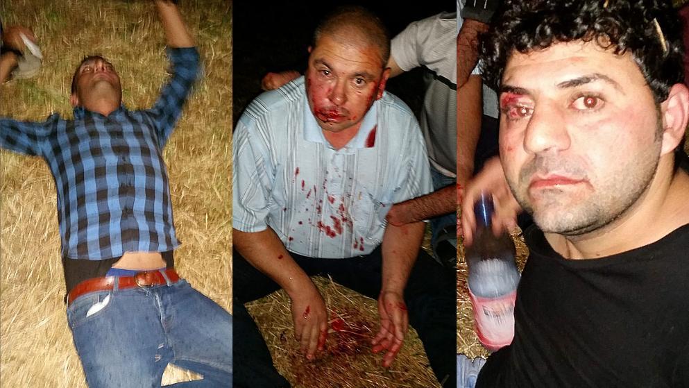 Mutmaßliche Mitglieder einer rechtsradikalen Vereinigung attackierten im August 2016 mehrere Êzîden (privat)