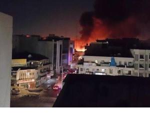 Anschlag auf Saduun-Marktviertel nahe der irakischen Stadt Bagdad vom 28. Sep. 2015