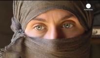 Aus der IS-Hölle entkommen êzîdîsche Frau (Screenshot/euronews)
