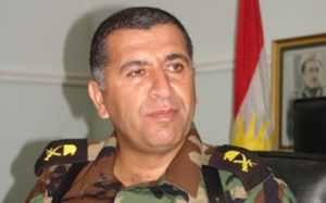 Aziz Weysî, Oberkommandeur der Zerevani-Peshmerga in Zumar