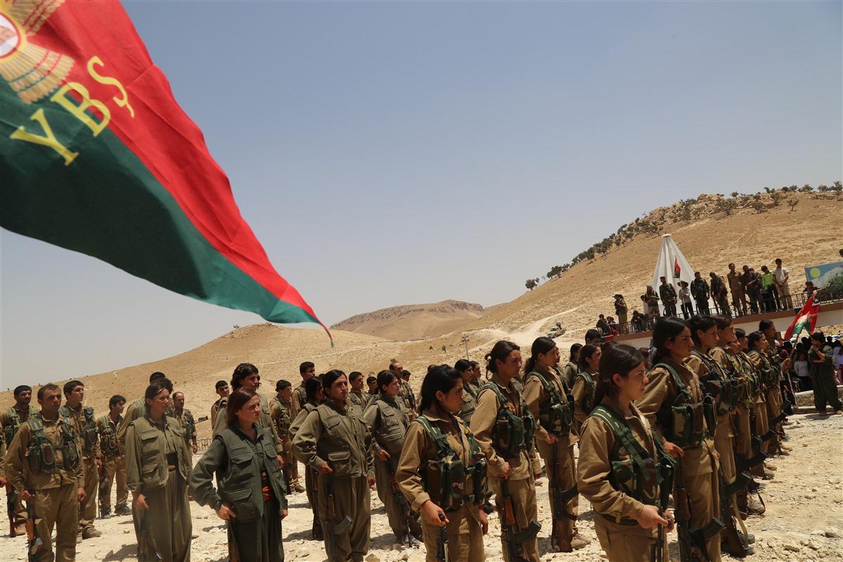 Im Westen der Shingal-Region kam es zu schweren Gefechten, bei denen der YBŞ-Kommandeur Agit Efrin gefallen ist und in Shingal beigesetzt wurde (Anf)