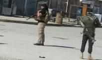 Nach Shingal beorderte sunnitische Peshmerga in Sinune (Matthew Barber)