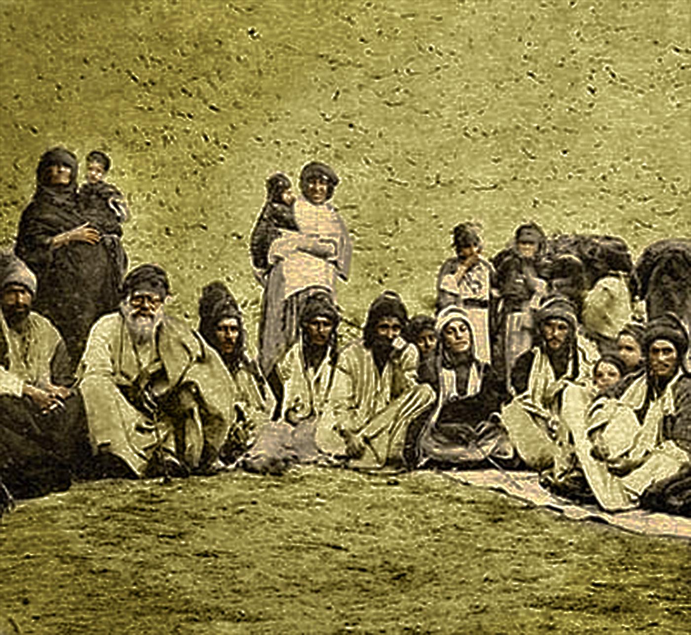 Êzîden aus der Shingal-Region zu Beginn des 20. Jahrhunderts
