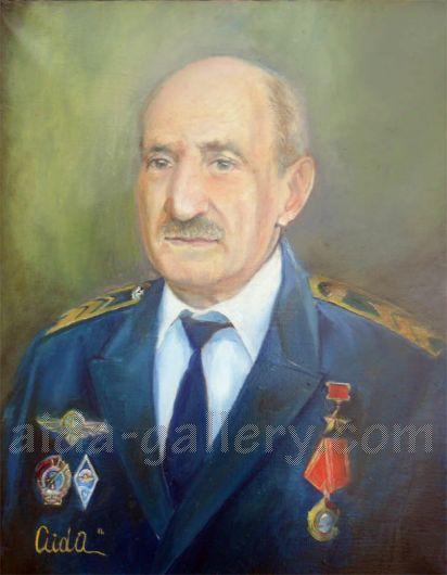 Celilê Shekro, êzîdîscher Oberstleutnant der Roten Armee