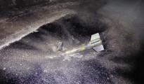 Mehrere vermutlich mit Chlorgas präparierte Raketen der IS-Terrormiliz schlug gestern in Shingal-Stadt ein (Matthew Barber/25. Januar 16)