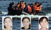 Drei im Mittelmeer ertrunkene êzîdîsche Mädchen aus Shingal (Owen Holdaway/Okt. 2015)