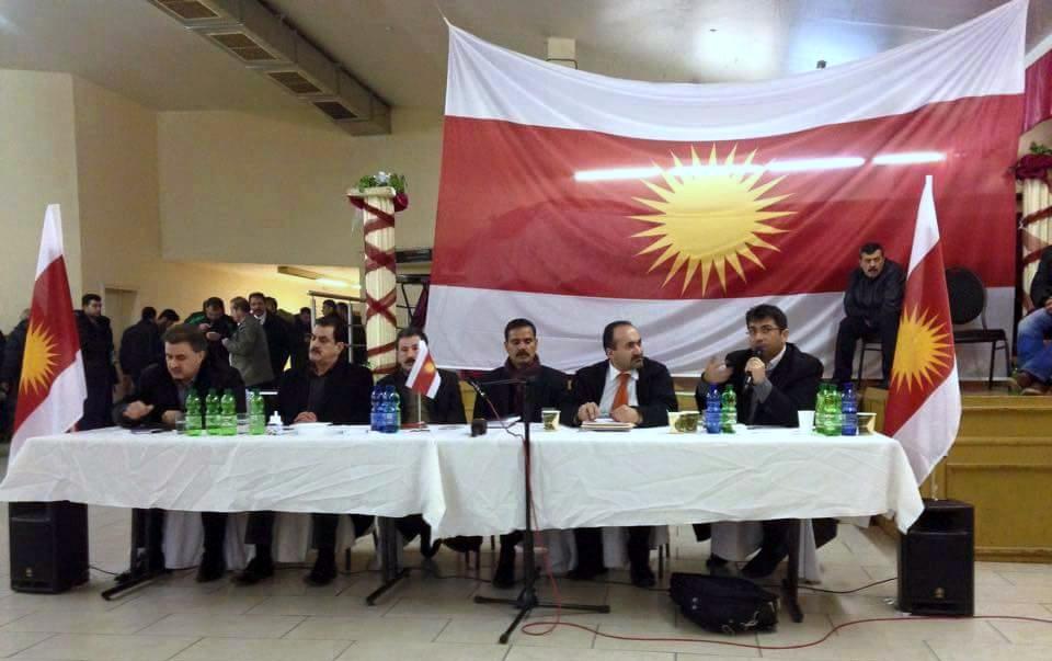 Debatte in Lehrte mit HPŞ-Oberkommandeur Heydar Shesho