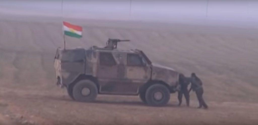 Dinge aus Deutschland beim versuchten Einmarsch der Peshmerga in Khanasor