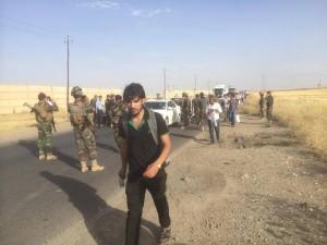 Êzîdîsche Studenten werden von Pêşmerga Einheiten aus Mosul evakuiert