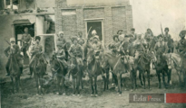 Armenische und êzîdîsche Widerstandskämpfer unter dem Kommando von Jangir Agha im Jahr (1915-1918)