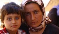Vor dem IS-Terror geflüchtet: Êzîdîsche Mutter mit Tochter aus Shingal