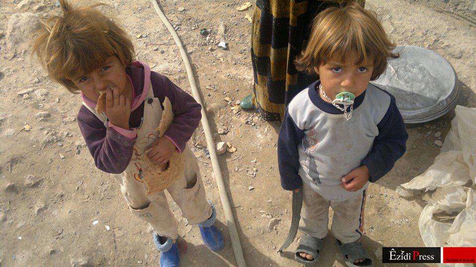 Kinder an der Pilgerstätte Sherfedin am 23. Okt. 2014